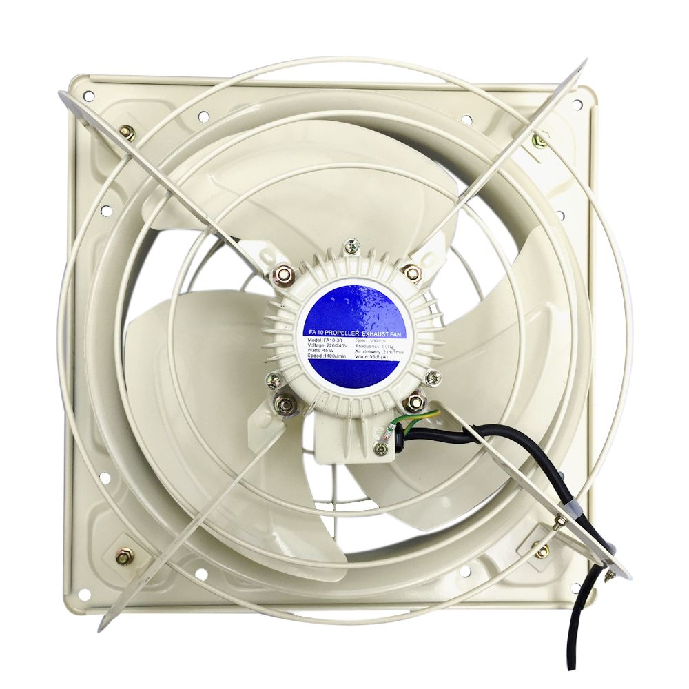 Extractor Fans Industrial : Industrial plate extractor ventilation fan with without